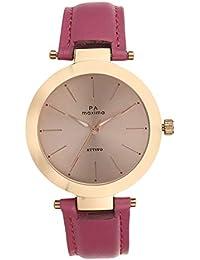 Maxima Analog Rose Gold Dial Women's Watch-O-56903LMLR