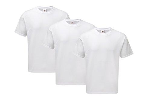 Fruit of the Loom Jungen T-Shirt 2Original T + 1Sweatshirt Kids, 3er Pack, Mehrfarbig (Multicoloured 13), 164 (Herstellergröße: 14Y)