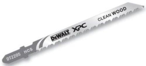 DeWalt DT2205QZ - Pacco di 5 lame bimetalliche XPC T101B per seghetto alternativo, per il taglio del legno