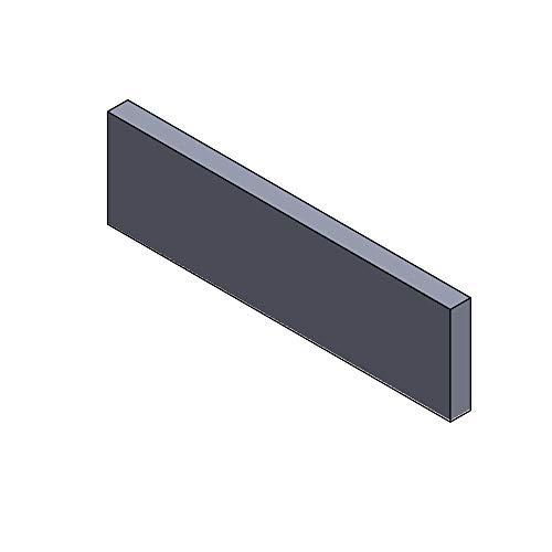 Flamado Heizgasumlenkplatte unten 448x145x30mm (Vermiculite)