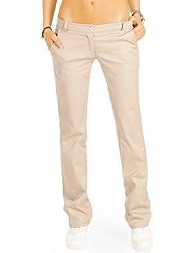 Bestyledberlin pantalones de mujer tubo, pantalones chino slim j20k