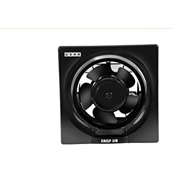 Usha Crisp Air 150mm Exhaust Fan (Black)