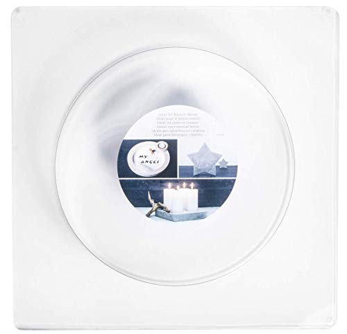 RAYHER 36034000 Gießform Kreis, 18,5 cm Durchmesser, Tiefe 3,5 cm