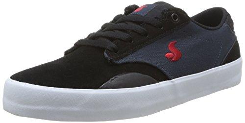 DVS Shoes - Daewon 14, Scarpe da skateboard da uomo, blu(blue (navy/blk suede)), 42