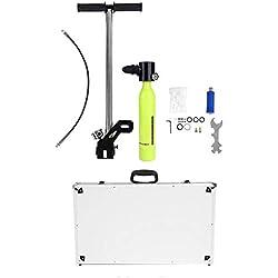 Équipement de plongée, Mini-Bouteille de plongée sous-Marine à oxygène Équipement de plongée Respirateur à oxygène à Haute Pression Compresseur Kit de Recharge pour réservoir de plongée