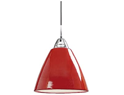 Nordlux Pendelleuchte Read 35 75W E27 rot 73203002 von Nordlux auf Lampenhans.de