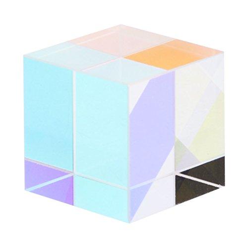 Senoow magischen Laserstrahl kombinieren Würfel Prisma blau Laserdiode Modul Novel Kinder...