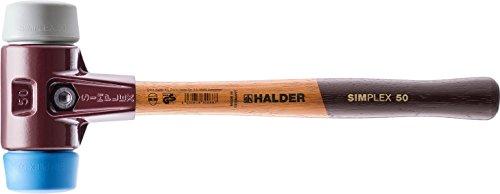 SIMPLEX-Schonhämmer, mit Stahlgussgehäuse und hochwertigen Holzstiel | Ø=60 mm | 3013.060