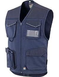 Grafilandia Gilet Multitasche Colore: Navy JRC Abbigliamento da Lavoro