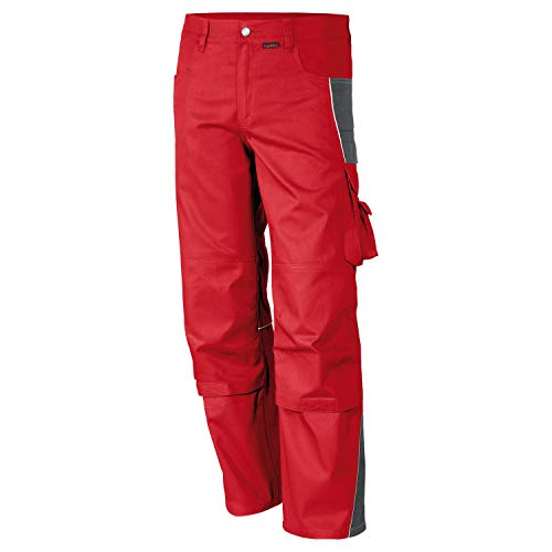 Bundhosen Kostüm - Qualitex - Bundhose PRO MG 245, ROT/GRAU, 70
