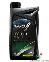 WOLF Olio Cambio/differenziale 1 Litro ECOTECH 75W VW FE (N. 6 Del Carburante Olio)