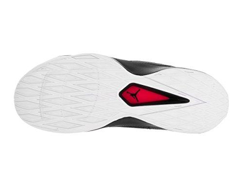 Nike Jordan Rising High 2, Scarpe da Basket Uomo Multicolore (Black/Gym Red/White)