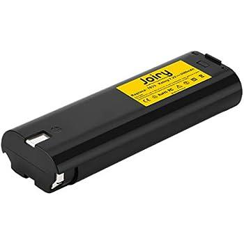 Joiry 7.2V 3.5Ah NiMH Batterie pour Makita 7000 7002 7033 191679-9 632002-4 632003-2 192532-2 192695-4