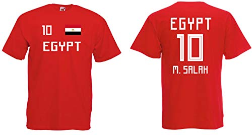 Egypt Salah Kinder T-Shirt Trikot WM 2018 Look