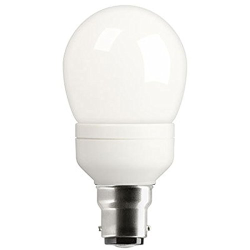 GE Lighting 15W Heliax w. GLS Lookalike Compact Fluorescent Bulb A Energy Rating 830 Lumens [Pack 6]