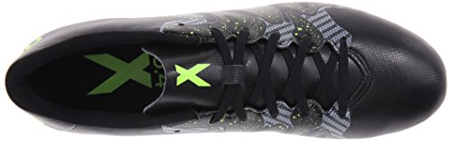 Adidas Performance X 15.4 Chaussures de football, noir / choc Mint / blanc, 6,5 M Us Core Black/Solar Yellow/Night Metallic F13