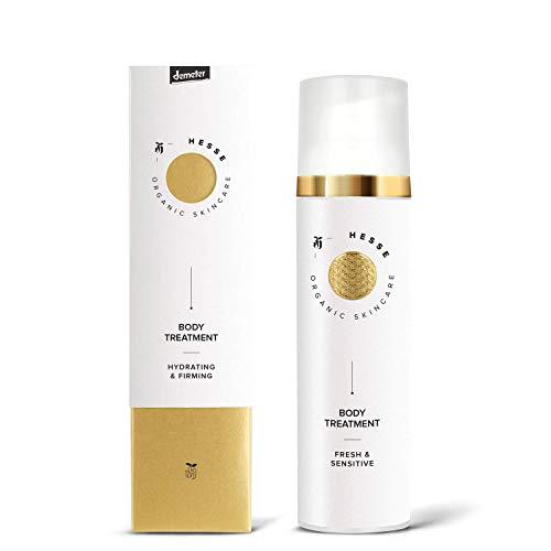 Hesse Organic Skincare Body Treatment - Hydrating & Firming 80 ml Demeter zertifiziert vegan | Naturkosmetik in Demeter Qualität -