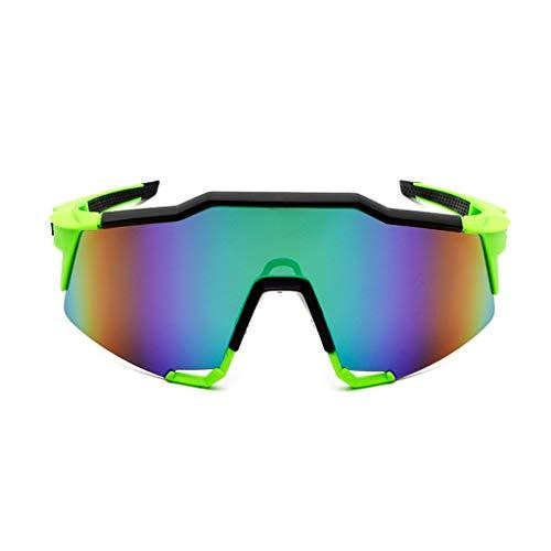 Fysless Radsportbrille, Neue Outdoor Radsportbrille Sport Sonnenbrillen Reitbrille Fahrrad Eyewear_A