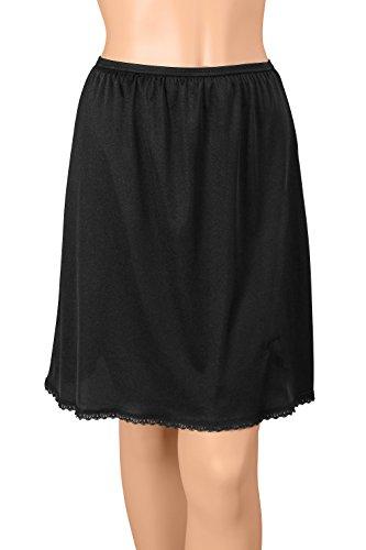 Gemsli -  Sottogonna  - Donna 28 Inches Black