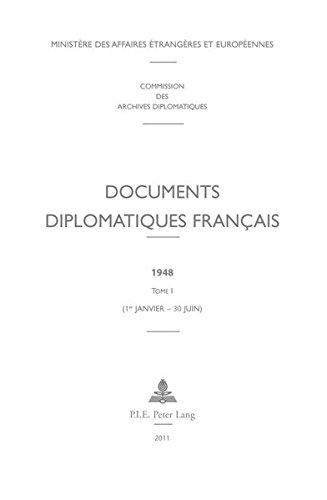 Documents Diplomatiques Francais, 1948: 1er-janvier - 30 Juin