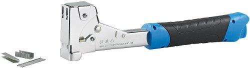 AGT Schlagtacker: Stahl-Hammertacker für Heftklammern bis 12 x 17 mm (Handtacker)