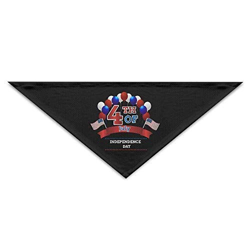 Gxdchfj Happy Independence Day 4th July Triangle Pet Scarf Dog Bandana Pet Collars for Dog Cat - Birthday Bandana Bibs Triangle Head Scarfs Accessories (Happy Halloween Doggy)