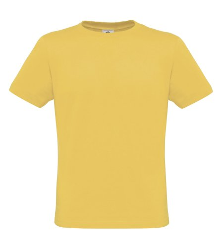 BCTM010 T-Shirt Men-Only Herren Shirt Used Yellow