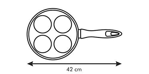 Tescoma 601262 Premium Padella con 4 Cerchi 22x22 cm