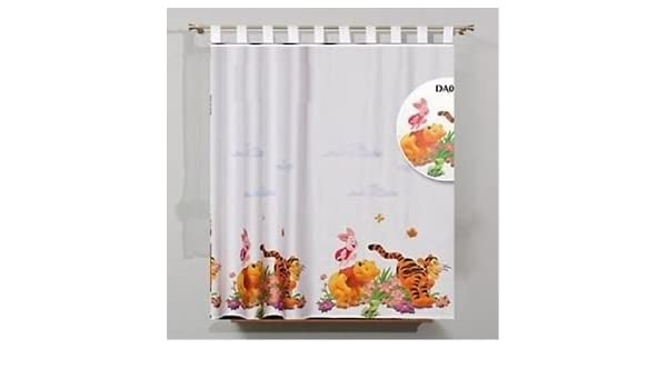 WINNIE THE POOH Voile Net Curtain 150 cm width x 207 cm drop