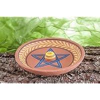 Berg Räucherstäbchenhalter Pentagramm aus Ton, ca. 12,5 cm preisvergleich bei billige-tabletten.eu