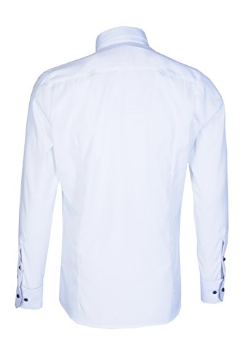 Pure - Chemise casual - Uni - Homme Blanc