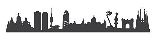 Cool Barcelona-Adhesivo de pared impresión-moderno minimalista de pared Arte y pieza de estilo urbano para tu hogar El vinilo será también impresionante como parte de un conjunto de 3o 5. Su una gran manera para contar su historia personal, par...