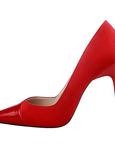 WSS 2016 Chaussures Femme-Extérieure / Bureau & Travail / Soirée & Evénement-Noir / Rose / Rouge / Gris / Bordeaux / Fuchsia-Talon Aiguille-Talons fuchsia-us8 / eu39 / uk6 / cn39