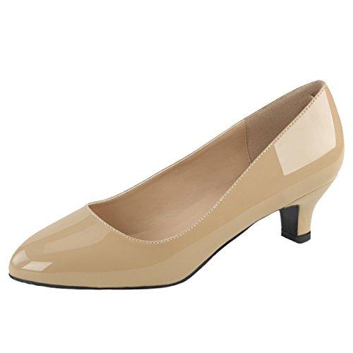 Heels-Perfect , Sneakers Basses femme Beige