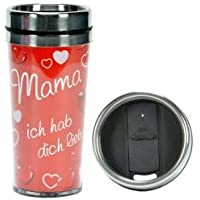 Tussi Thermobecher ,,Mama ich hab dich lieb'
