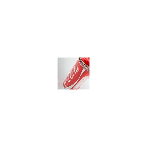 Coca-Cola-Crack Haus-Dose Blech mit Trinkhalme