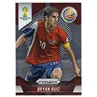 Panini Prizm World Cup Brazil 2014 Base Card # 56 Bryan Ruiz Costa Rica