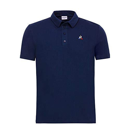 Le Coq Sportif Polo Essentiels Dress Blue Blu 1910689 XL