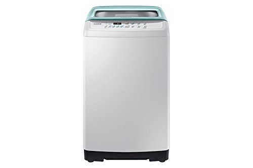Samsung WA60H4300HB/TL Fully-automatic Top-loading Washing Machine (6 Kg, Light Grey and Savoy Blue)