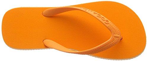 Goganics Bicolour Unisex-Erwachsene Sandalen Orange (orange 500)