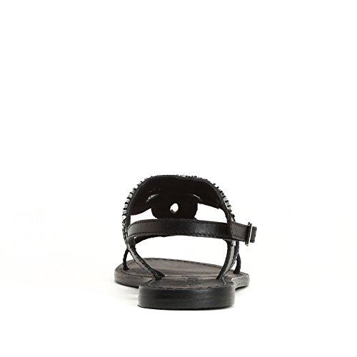 ALESYA by Scarpe&Scarpe - Sandales basses avec petites perles Noir