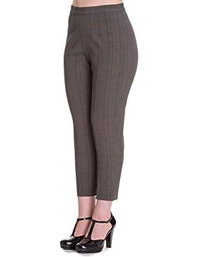 Pantalones Cortados Capri de Hell Bunny Jean en estilo de los 50's Cigarette