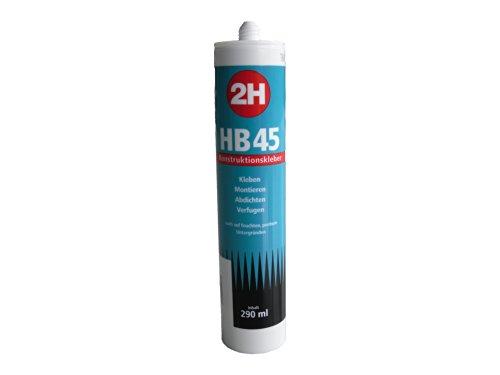 2h-hb45-konstruktionskleber-290ml-kartusche-transparent