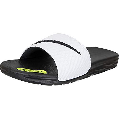 new styles bdba8 db546 Nike Benassi Solarsoft, Zapatos de Playa y Piscina para Hombre, (Bordeaux  Black