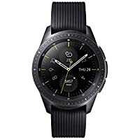 Samsung Galaxy Watch Smartwatch, Black, Bluetooth, 42 mm [Versione Italiana]