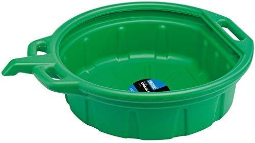 Draper Bac de récupération de vidange de fluides Vert de 16 litres 23259