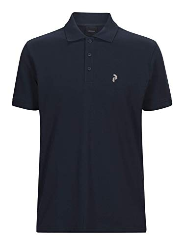 Peak Performance Herren Classic Pique Polo, Blue Shadow, L -