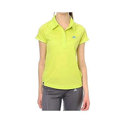 Golf Climalite (adidas Damen Polo Shirt Climalite Lime Sport Golf hikingtennis Gr. 38, Lime)