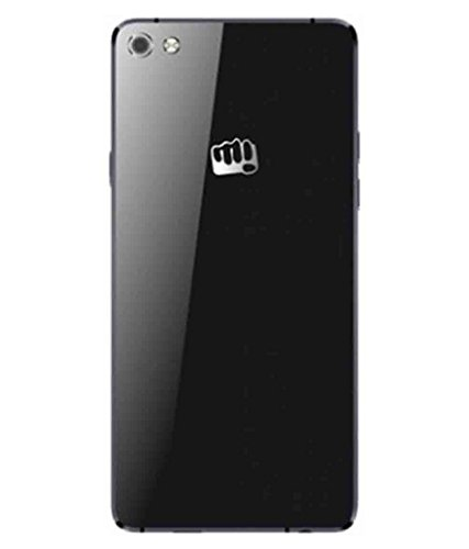 Wise Guys Glass Battery Back Door Housing Panel Cover Replacement for Micromax Canvas Sliver 5 Q450 - Black