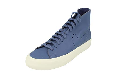 Nike Blazer Studio Mid Herren Hi Top Trainers 880870 Sneakers Schuhe (UK 10 US 11 EU 45, Blue Moon 400)